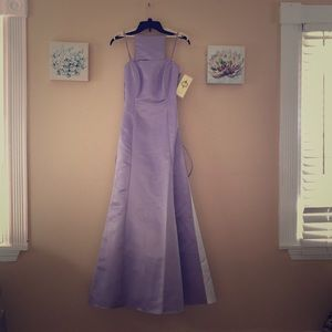 Like purple drees with bedazzled top sized XS US